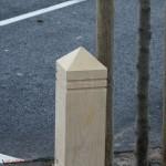 barrière chêne St Sylvain d'Anjou par Bourgoin bois