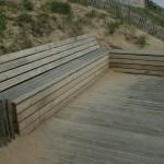 Aménagement littoral St Nazaire/Pornichet, en bois de Chêne par Bourgoin bois