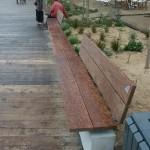platelage chêne blanc et Ipé, plage des Dames à Noirmoutier par Bourgoin bois