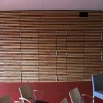 bardage pin Douglas, mairie de St Herblain, par Bourgoin bois