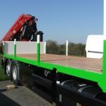 plancher de camion en Kapur Bourgoin bois