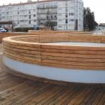 aménagement urbain bourgoin bois LA ROCHELLE Motte rouge