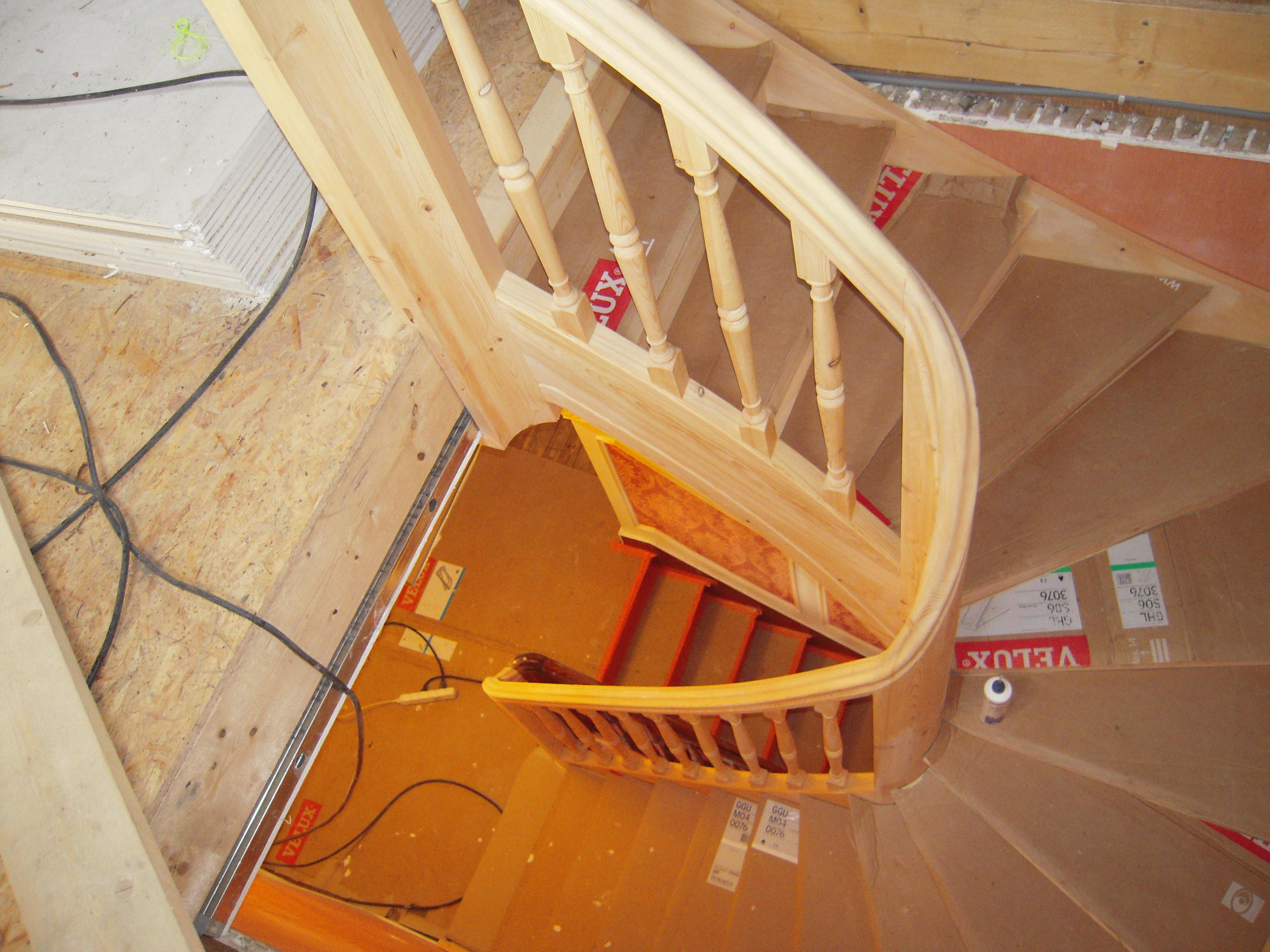 escalier épicéa bourgoin bois