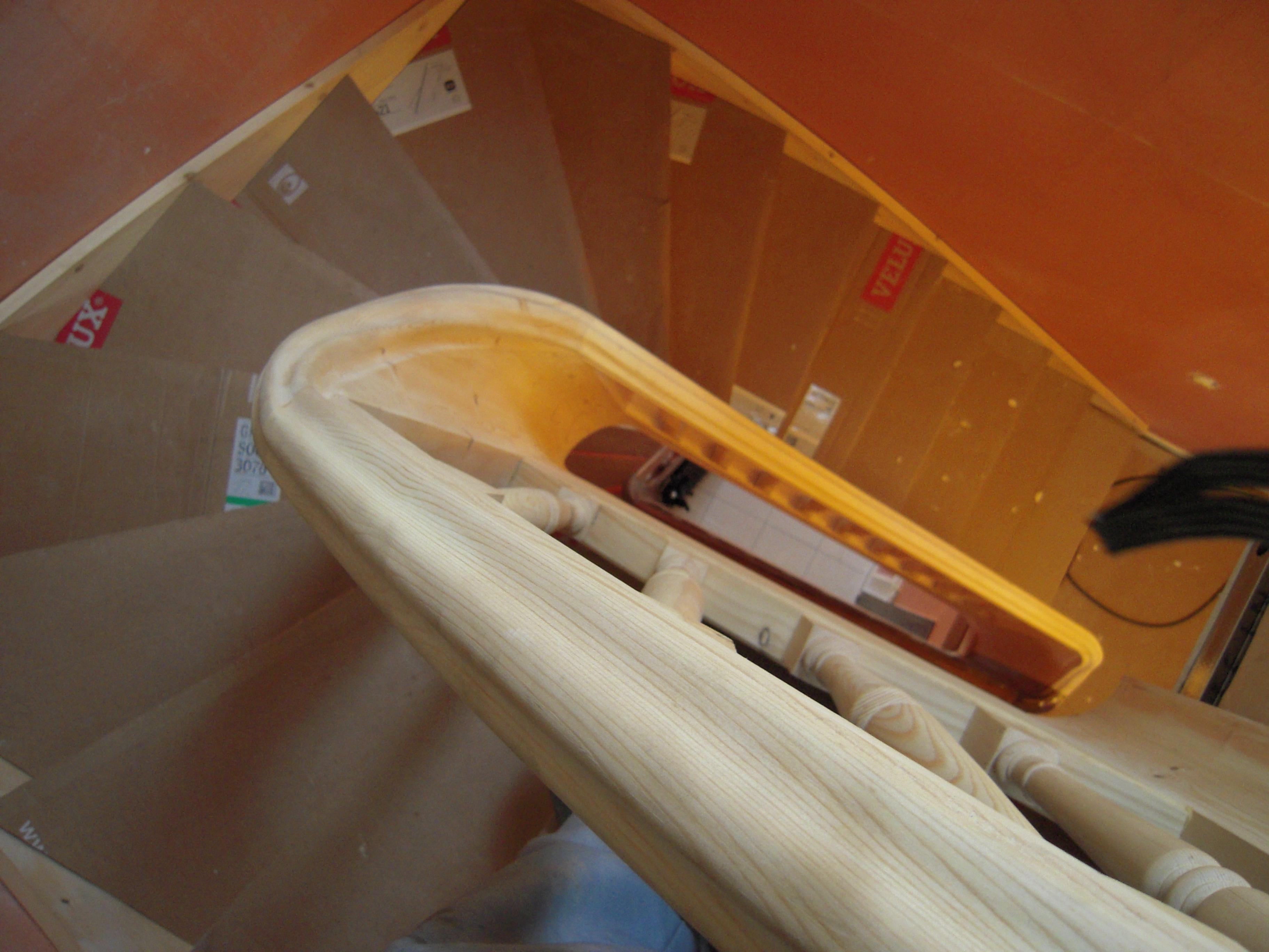 escalier sapin du nord blanc bourgoin bois